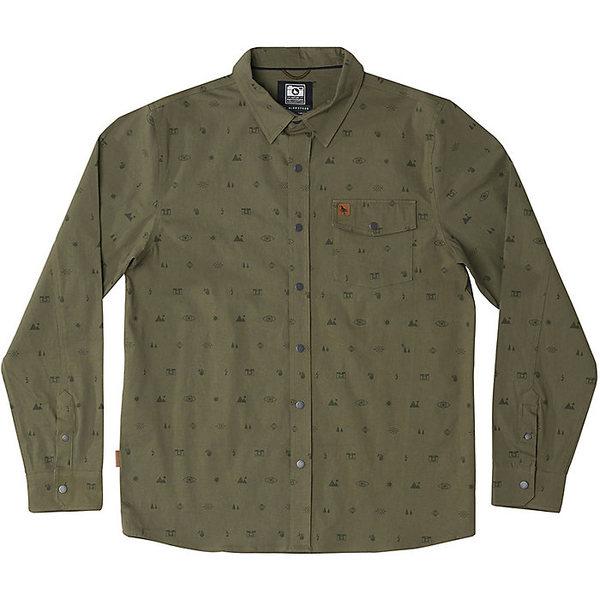 ヒッピーツリー メンズ シャツ トップス HippyTree Men's Exposure Woven Shirt Military