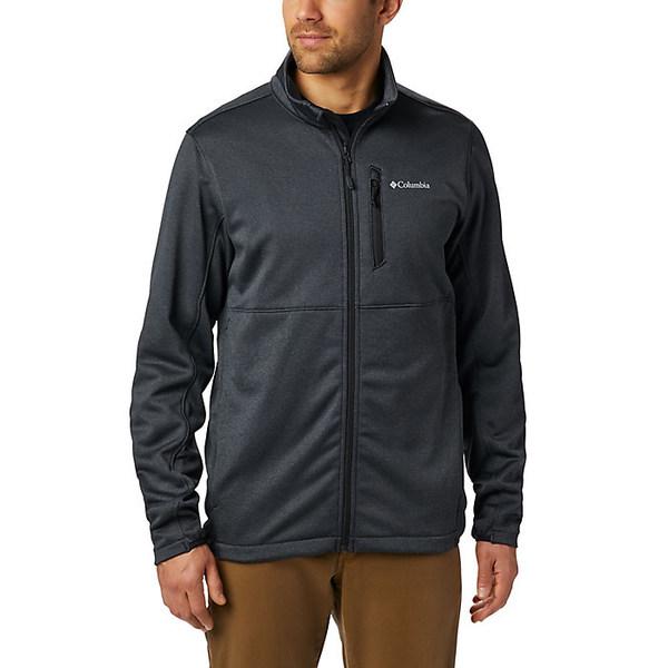 コロンビア メンズ ジャケット&ブルゾン アウター Columbia Men's Outdoor Elements Full Zip Black