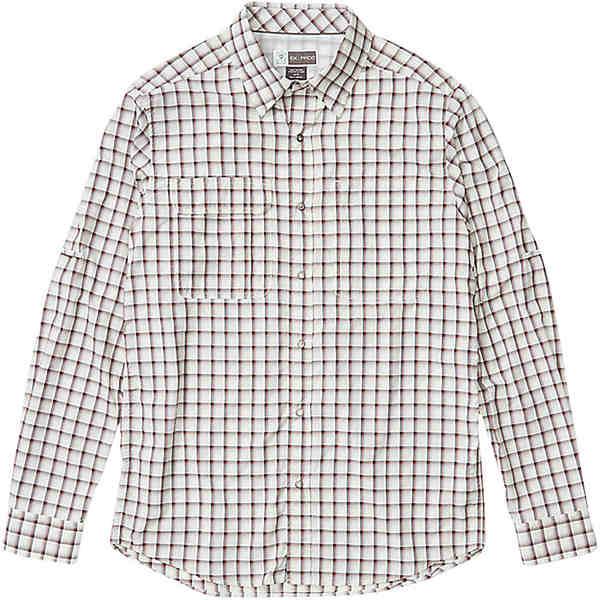 エクスオフィシオ メンズ シャツ トップス ExOfficio Men's BugsAway Halo LS Shirt Papyrus