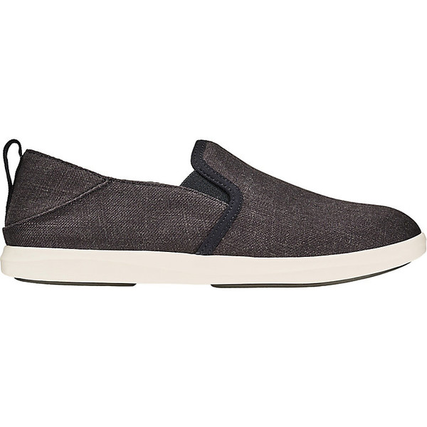 オルカイ レディース スニーカー シューズ Olukai Women's Hale'Iwa Olona Shoe Black/Off White