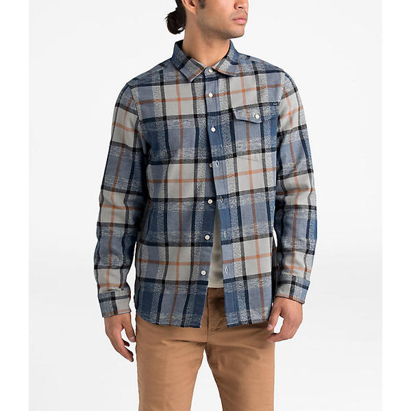 ノースフェイス メンズ シャツ トップス The North Face Men's Arroyo Flannel LS Shirt Mid Grey Speed Wagon Plaid