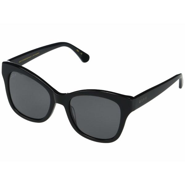 ディフ レディース アクセサリー サングラス 送料無料/新品 アイウェア 全商品無料サイズ交換 Black チープ Skylar Grey