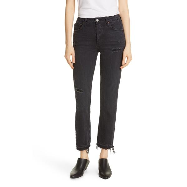 トレーブ レディース カジュアルパンツ ボトムス TRAVE Constance High Waist Release Hem Jeans (Road to Nowhere) Road To Nowhere