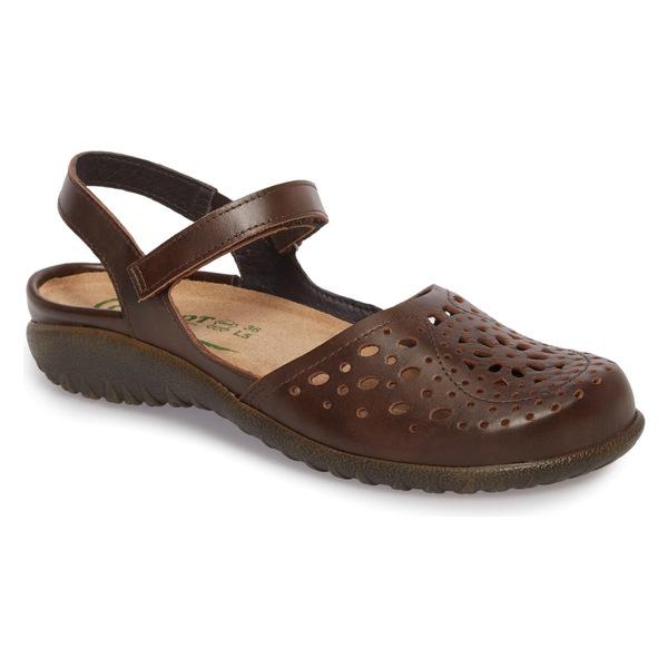 ナオト レディース サンダル シューズ Naot 'Arataki' Mary Jane (Women) Pecan Brown Leather