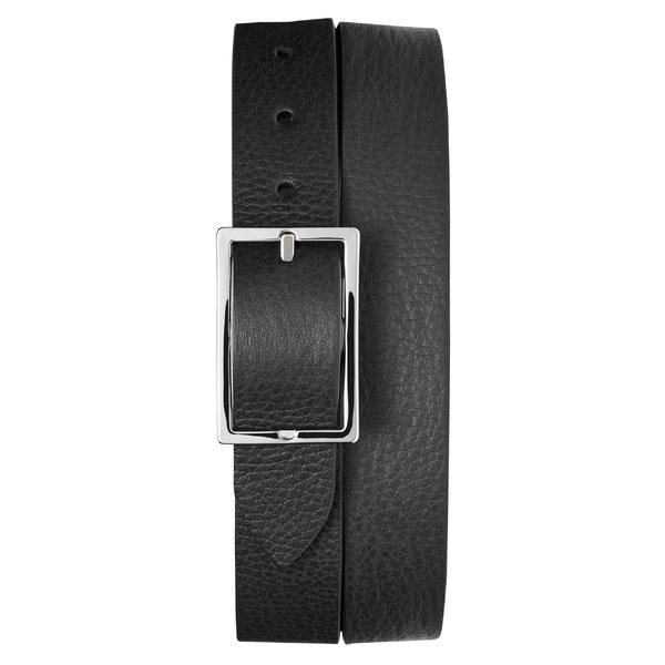 シャイノーラ メンズ ベルト アクセサリー Shinola Reversible Leather Belt Black/ Walnut