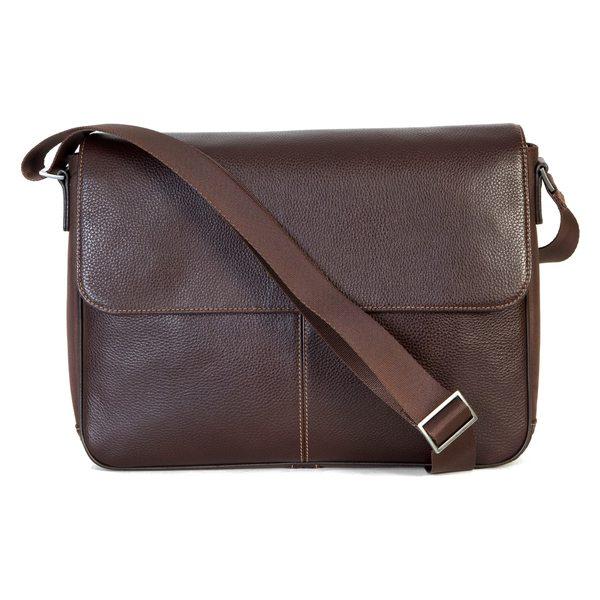 ボコニ メンズ ☆最安値に挑戦 ショルダーバッグ SALE開催中 バッグ Boconi Tyler Leather Coffee Messenger Bag