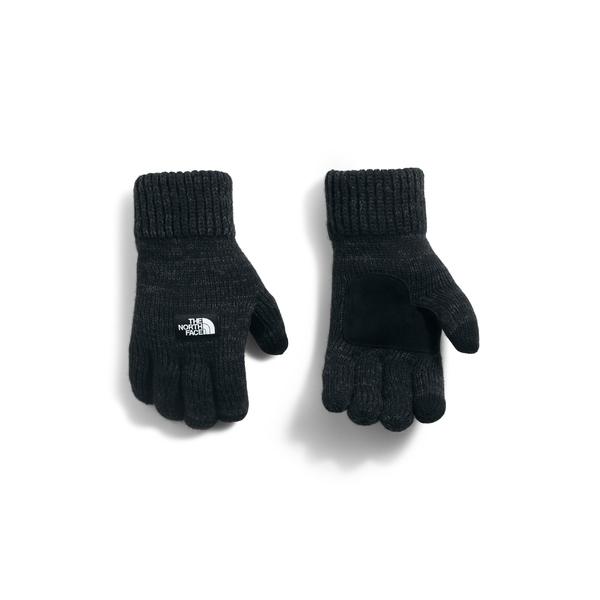 ノースフェイス メンズ 手袋 アクセサリー The North Face Etip Salty Dog Knit Tech Gloves Black