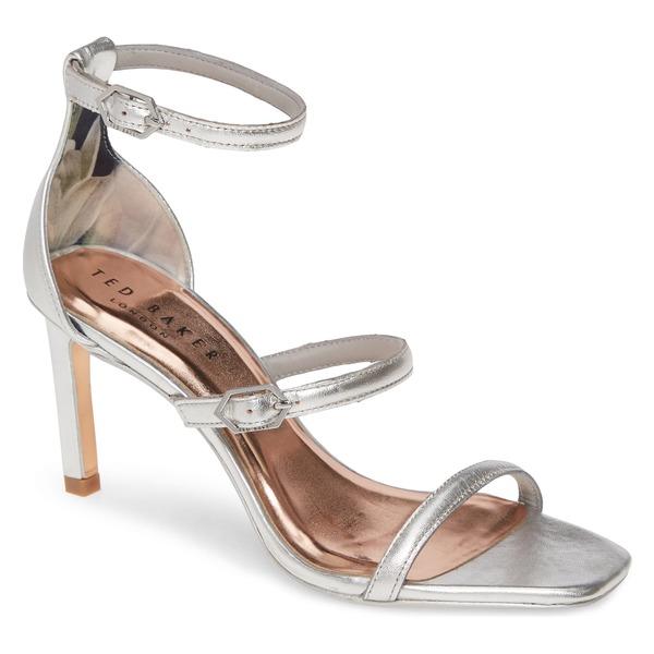 テッドベーカー レディース サンダル シューズ Ted Baker London Triam Sandal (Women) Silver