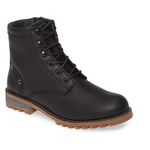 コディアック レディース ブーツ&レインブーツ シューズ kodiak Mahone Insulated Waterproof Boot (Women) Black Waterproof Leather
