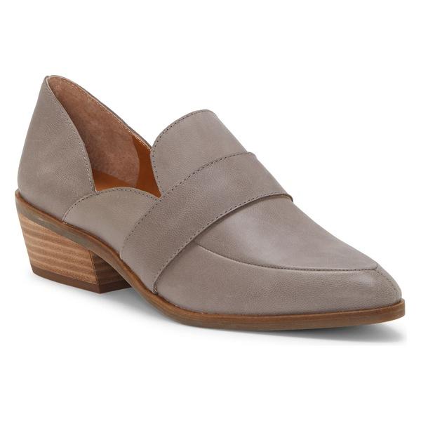 ラッキーブランド レディース サンダル シューズ Lucky Brand Maemai Loafer (Women) Titanium Leather
