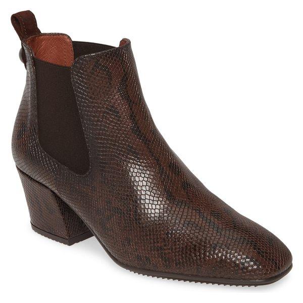 ヒスパニタス レディース ブーツ&レインブーツ シューズ Hispanitas Andry Chelsea Boot (Women) Whips Moka Leather