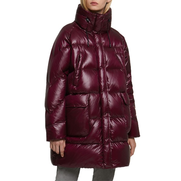 ウール リッチ レディース コート アウター Woolrich Birch Packable Water Repellent Down Parka Deep Wine