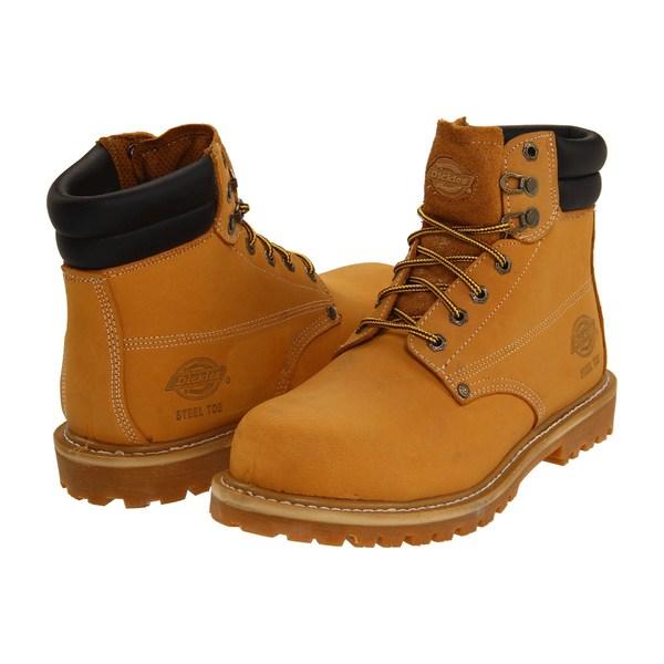 ディッキーズ メンズ ブーツ&レインブーツ シューズ Raider Steel Toe Wheat
