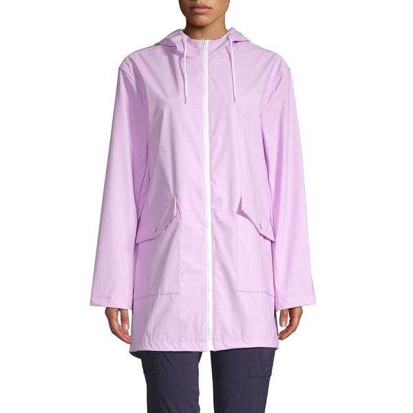 コアライフ レディース コート アウター Full-Zip Hooded Jacket Bright Lavender