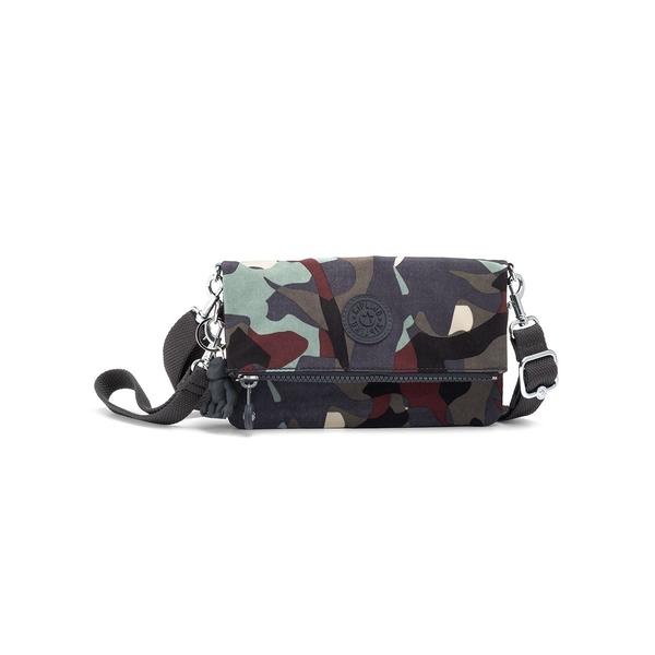キプリング レディース ショルダーバッグ バッグ Lynne 3-In-1 Convertible Crossbody Bag Camo