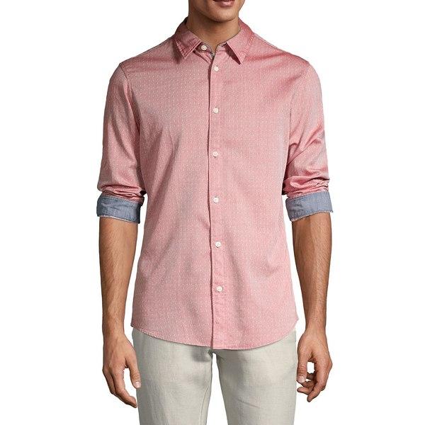 セレクテッドオム メンズ シャツ トップス Harper Slim-Fit Shirt Red Dahlia