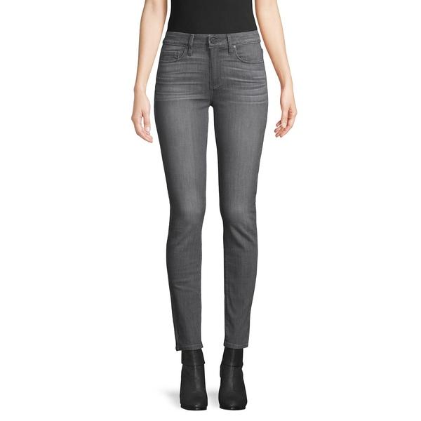 ペイジジーンズ レディース デニムパンツ ボトムス Mid-Rise Skinny Jeans Dusk Grey