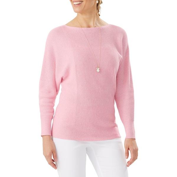 トッミーバハマ レディース ニット&セーター アウター Bonita Dolman-Sleeve Sweater Cherry Pink