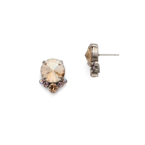 ソレーリ レディース ピアス&イヤリング アクセサリー Mirage Regal Rounds Swarovski Crystal Drop Earrings Mirage