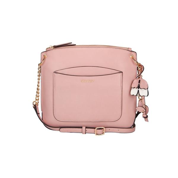 ナインウェスト レディース ショルダーバッグ バッグ Klarybel Swing Faux Leather Crossbody Bag Mod Pink