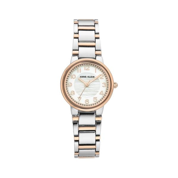 アンクライン レディース 腕時計 アクセサリー Two-Tone & Mother-Of-Pearl Bracelet Watch Two Tone
