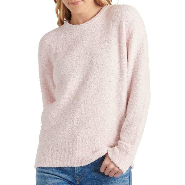 ラッキーブランド レディース ニット&セーター アウター Long-Sleeve Teddy Sweater Chalk Pink