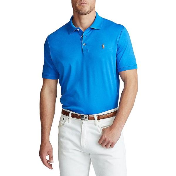 ラルフローレン メンズ シャツ トップス Classic-Fit Soft Cotton Polo Colby Blue