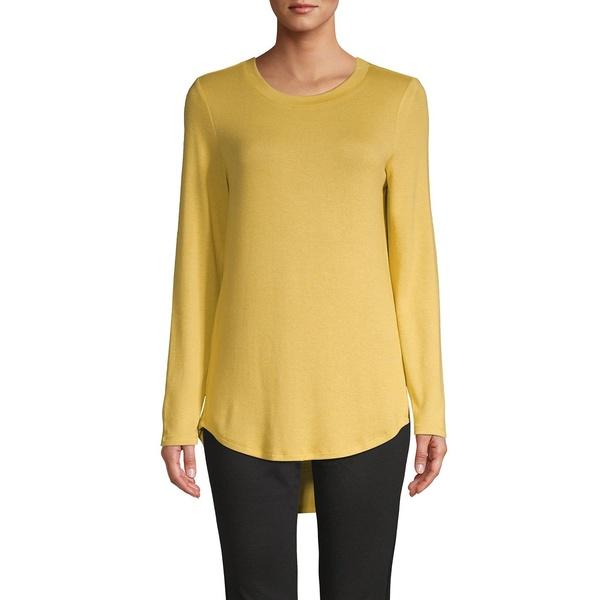 エイチ ホルストン レディース ニット&セーター アウター High-Low Crewneck Pullover Sweater Heather Horizon