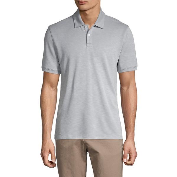 ブラック・ブラウン1826 メンズ シャツ トップス Short-Sleeve Polo Tradewinds