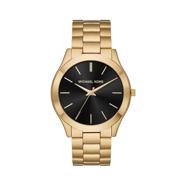 マイケルコース レディース 腕時計 アクセサリー Slim Runway Goldtone Stainless Steel Bracelet Watch Gold
