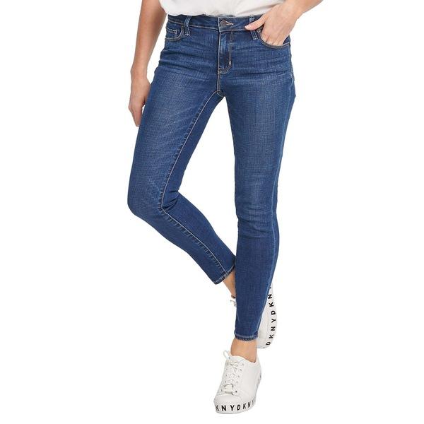 ダナキャランニューヨーク レディース デニムパンツ ボトムス Stretch Ankle Jeans Medium Wash