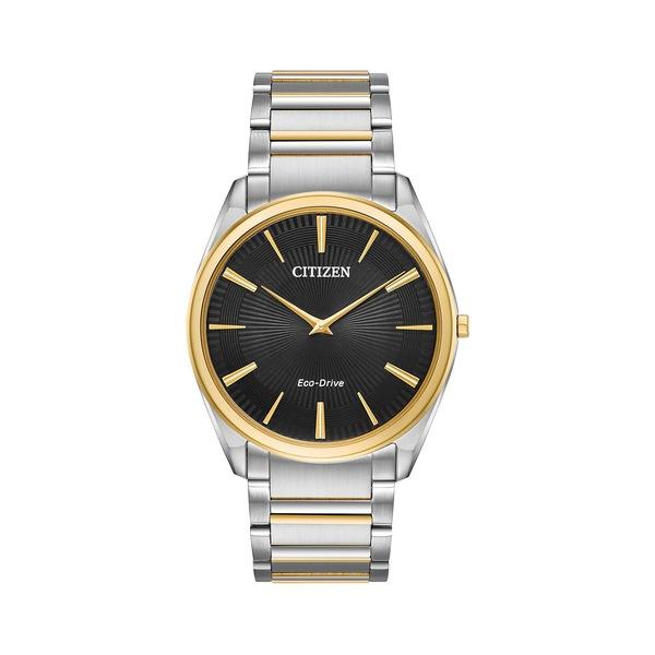 シチズン レディース 腕時計 アクセサリー Stiletto Eco-Drive Stainless Steel Watch Two Tone