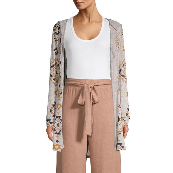 ビーコレクションバイボビュー レディース ニット&セーター アウター Hooded Open-Front Cardigan Multi