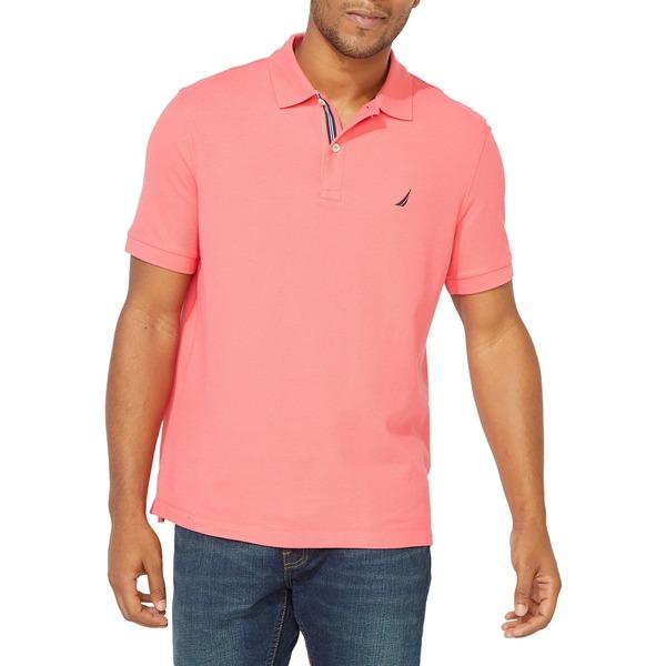 ナウティカ メンズ シャツ トップス Classic-Fit Solid Deck Polo Shirt Paradise Pink