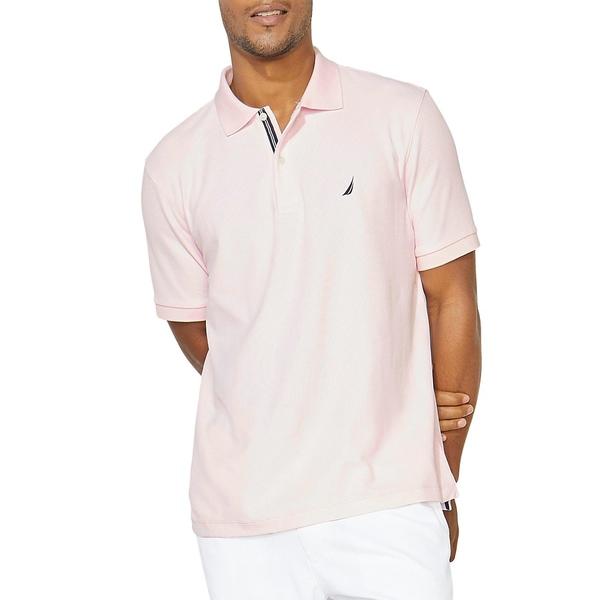 ナウティカ メンズ シャツ トップス Classic-Fit Solid Deck Polo Shirt Cradle Pink