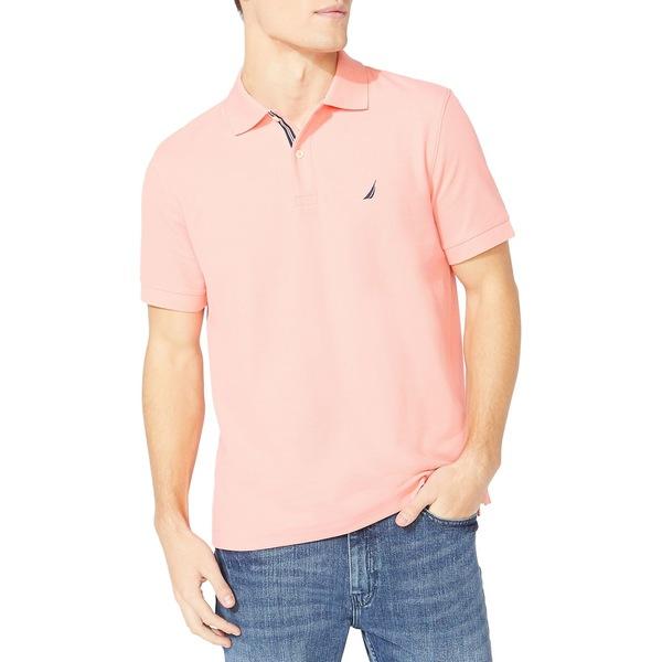 ナウティカ メンズ シャツ トップス Classic-Fit Solid Deck Polo Shirt Pale Coral