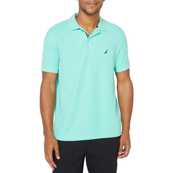 ナウティカ メンズ シャツ トップス Classic-Fit Solid Deck Polo Shirt Mint Sprig