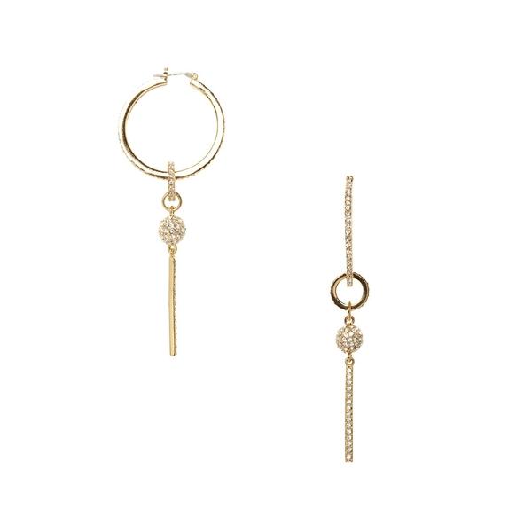 ヴィンスカムート レディース ピアス&イヤリング アクセサリー Goldtone & Crystal Linear Fire Ball Drop Earrings Gold