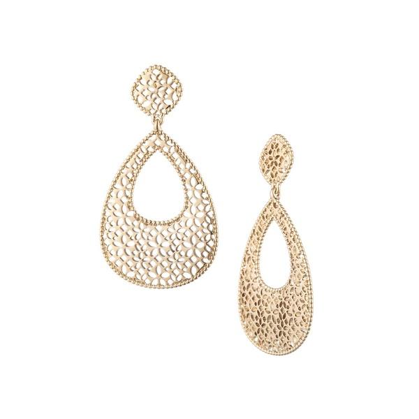 マルケッサ レディース ピアス&イヤリング アクセサリー Goldtone Chandelier Earrings Gold