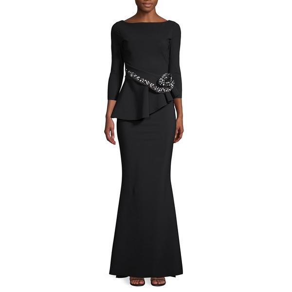 チアラ・ボニ・プティ・ローブ レディース ワンピース トップス Embellished Mermaid Gown Black