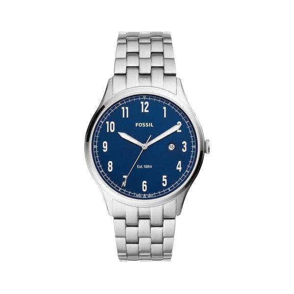 フォッシル レディース 腕時計 アクセサリー Forrester Stainless Steel Bracelet Watch Silver