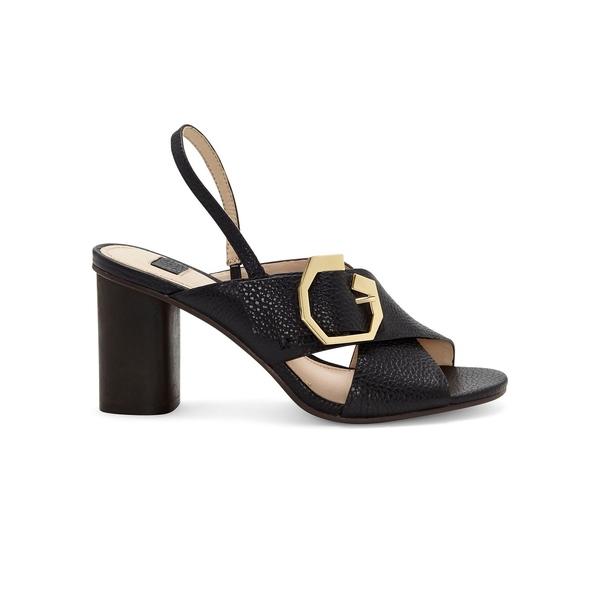 ルイスエシー レディース パンプス シューズ Karna Leather Heeled Sandals Black