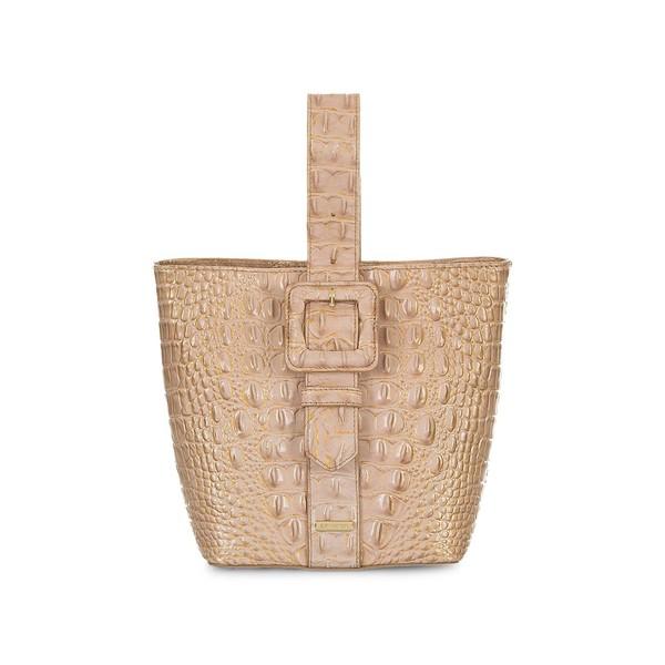ブランミン レディース ショルダーバッグ バッグ Chiffon Ombre Faith Embossed Leather Bucket Bag Chiffon