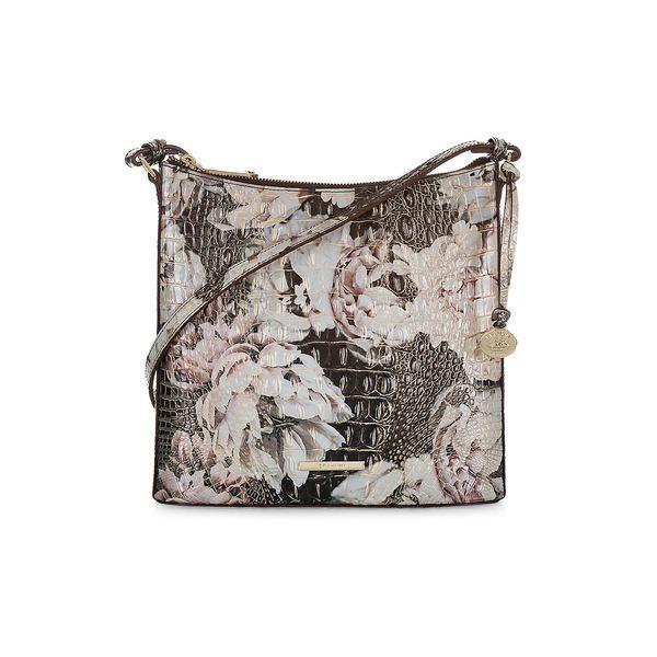 ブランミン レディース ショルダーバッグ バッグ Melbourne Katie Leather Crossbody Bag Eden
