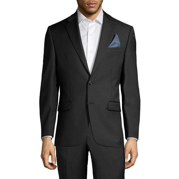 ラルフローレン メンズ ジャケット&ブルゾン アウター Classic-Fit Solid Wool-Blend Suit Separate Jacket Black