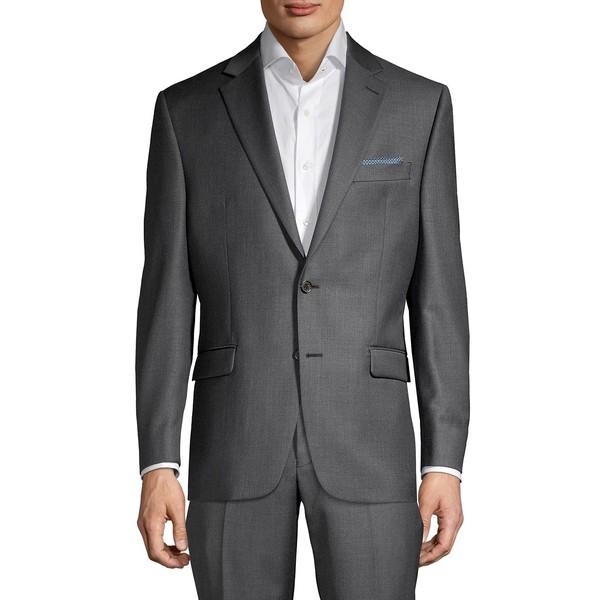 ラルフローレン メンズ ジャケット&ブルゾン アウター Classic-Fit Solid Wool-Blend Suit Separate Jacket Dark Grey