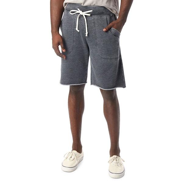 オルタナティヴ メンズ ハーフ&ショーツ ボトムス Victory Knit Shorts Washed Black