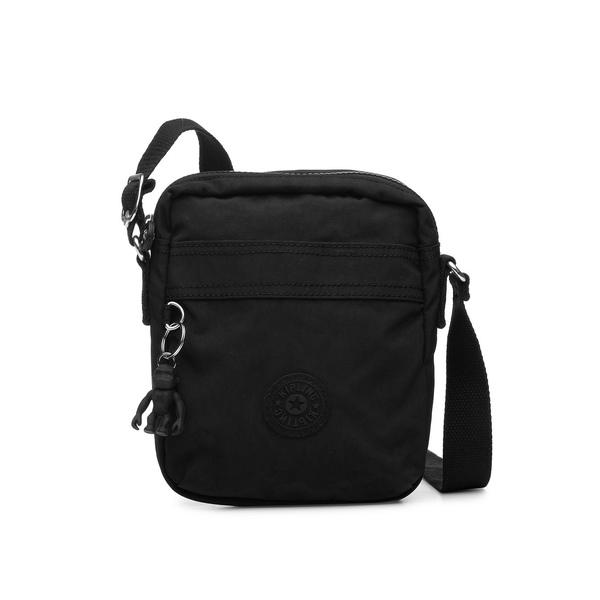 キプリング レディース ショルダーバッグ バッグ Hisa Nylon Crossbody Bag Black