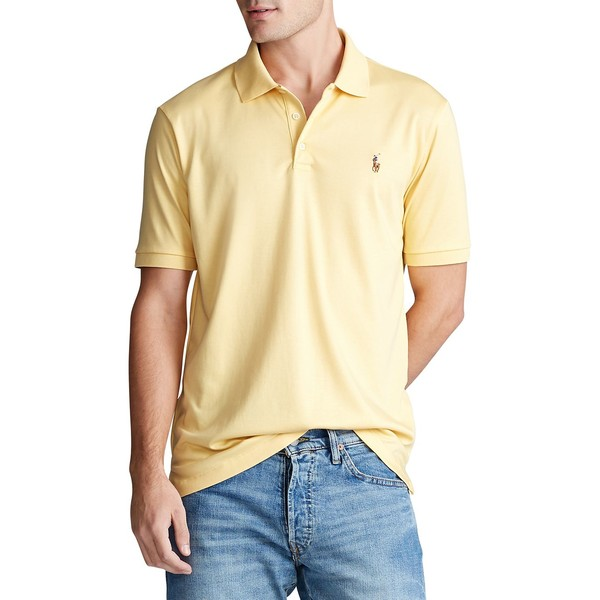 ラルフローレン メンズ シャツ トップス Classic-Fit Soft Cotton Polo Empire Yellow