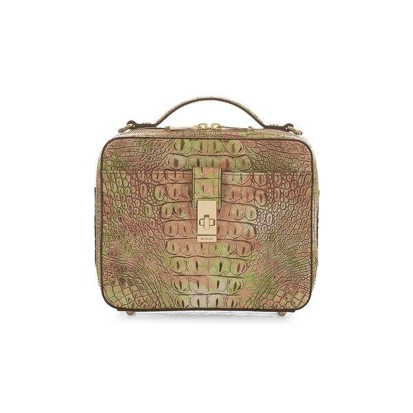 ブランミン レディース ハンドバッグ バッグ Melbourne Evie Leather Crossbody Bag Atlas